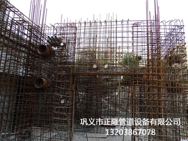 防水套管在建筑行业中案例